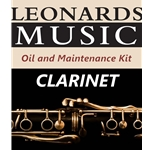 Oiling and Maintenance Kit for Wood Clarinet