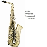 Buffet 400 Series Professional Alto Saxes